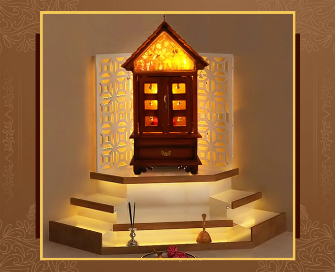 north west direction for puja mandir in home