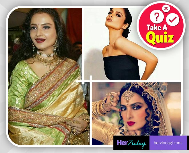 Take This Quiz To Find Out How Much You Know About Rekha, The True