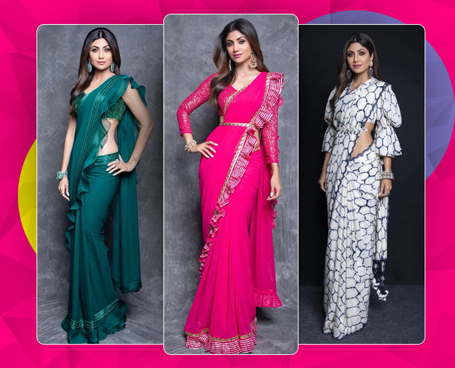 shilpa shetty blouse designs main