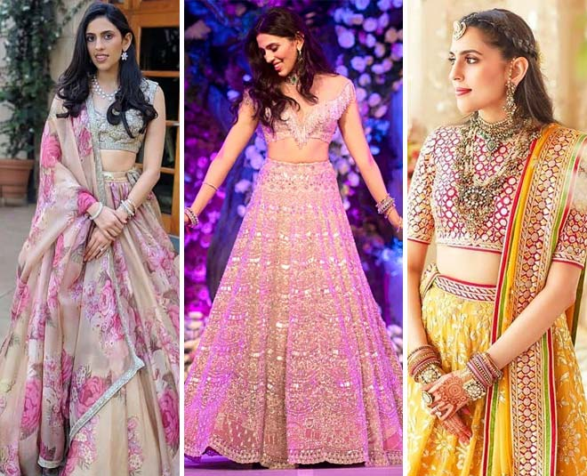 shloka mehta lehengas wedding