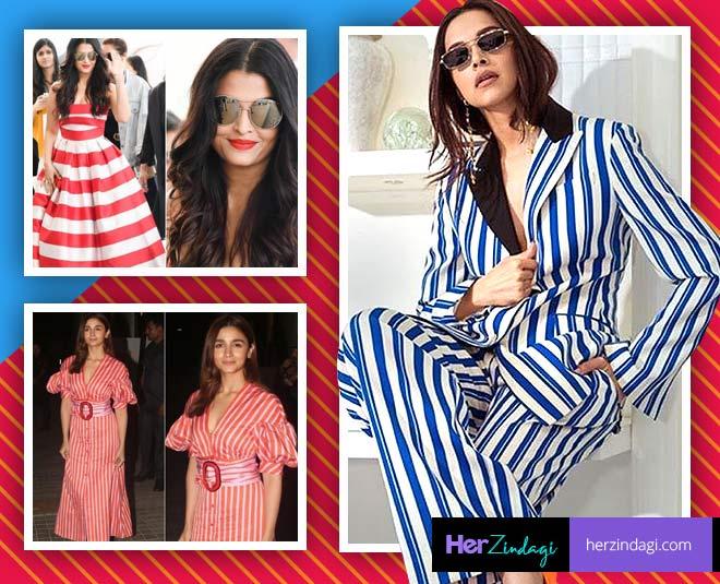 stripes fashion deepika padukone alia bhatt aishwarya rai main