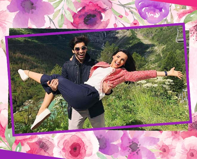 tv actress sanaya irani mohit sehgal gives major couple goals main