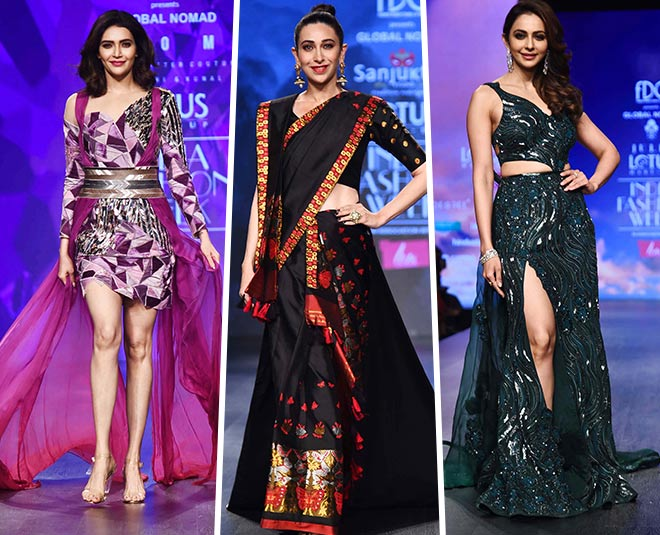 bollywood stars at lotus makeup india fashion week  main