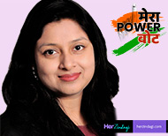 mera power vote women voters will shape other women future by their precious vote