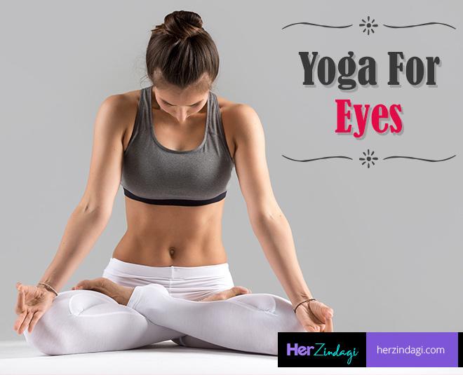 yoga for eyes card ()