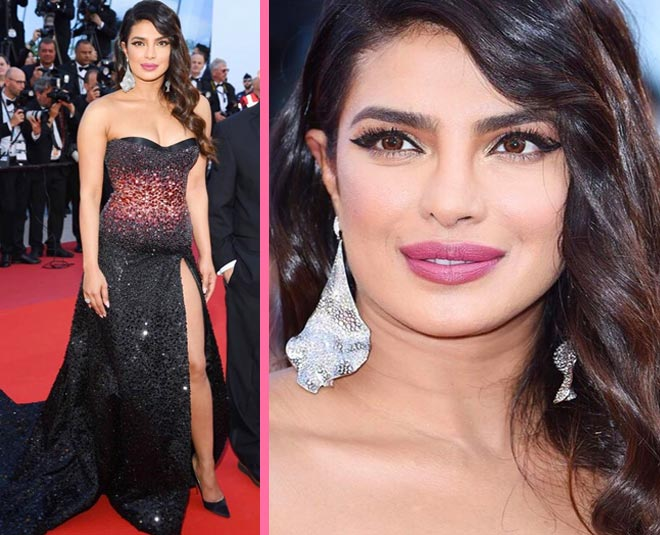 , priyanka chopra cannes makeup