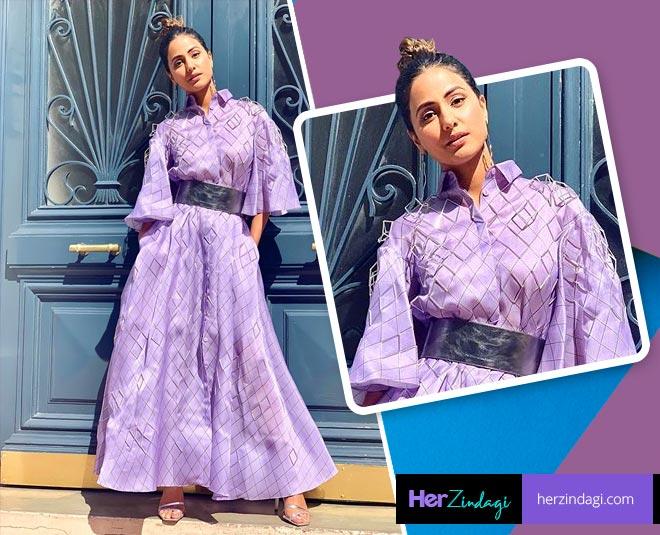 Hina khan latest Hair Style