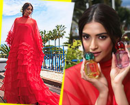 Sonam Kapoor Red Hot Look At Cannes