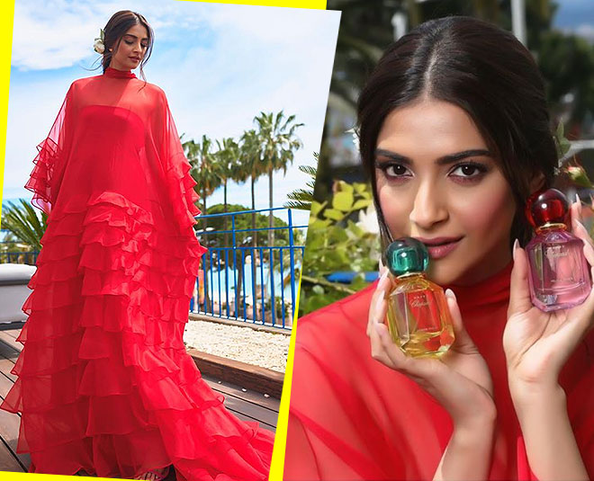 Sonam Kapoor Red Hot Look