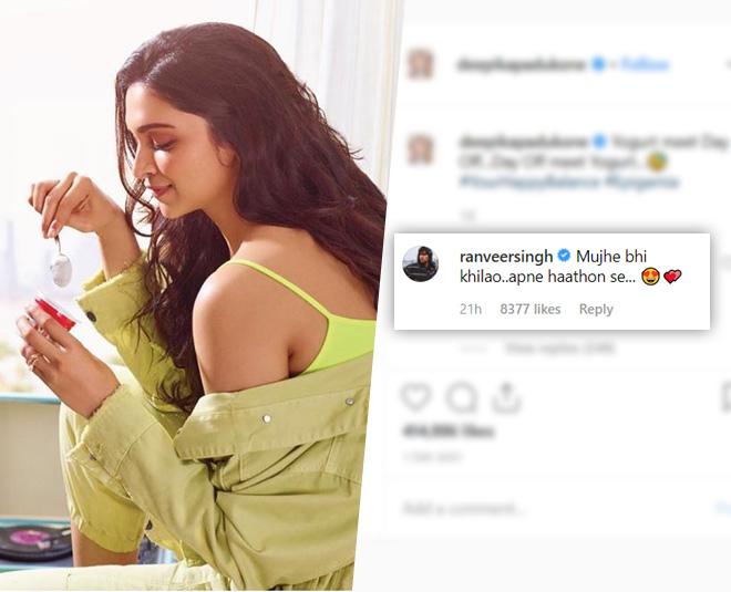 Is Ranveer Singh Naughty Comments On Deepika Padukone ...