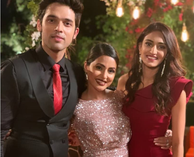 hina khan farewell party pictures