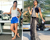 hina khan fitness routine