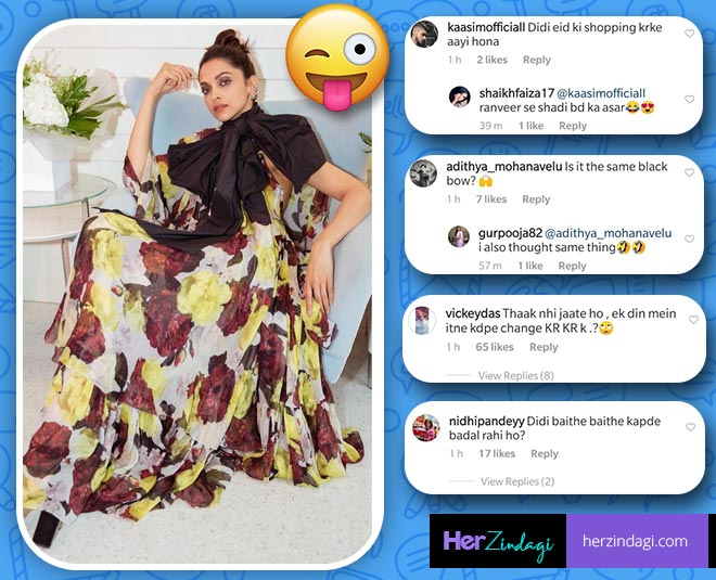 instragrammers comments on deepika padukone cannes look main