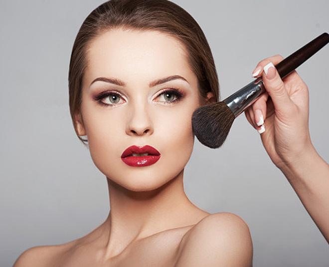 makeup face powder tips