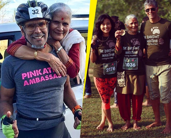 milind soman with moher fitness