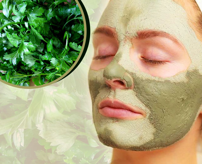 parsely mask for glowing and healthy skin