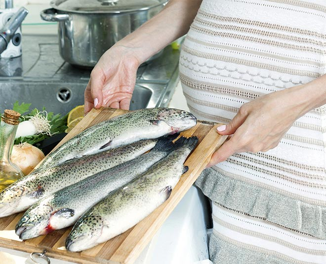 seafood can increase your chances of getting pregnant