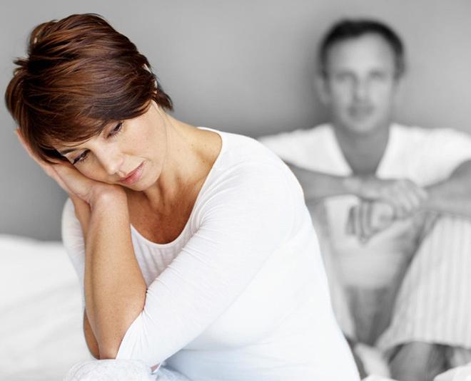 sad women menopause