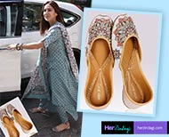 sara ali khan new footwear fashion