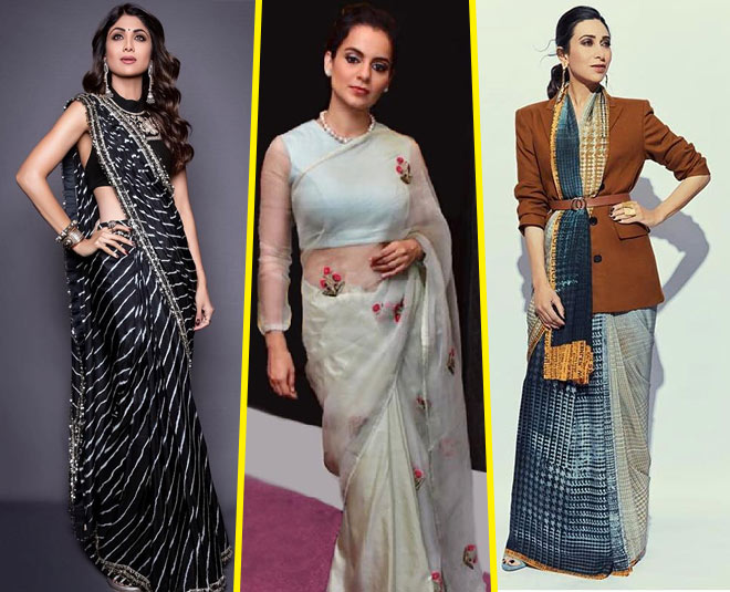 saree style fashion bollywood