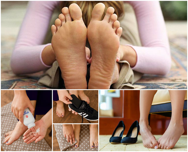 smelly feet problem home remedies