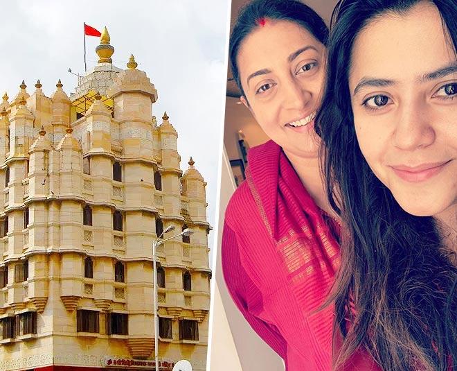 smriti irani and ekta kapoor visit siddhivinayak temple get bappa blessings main