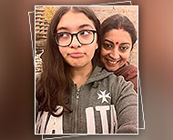 smriti irani with daughter thumbnail