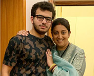 son and smriti irani thumb
