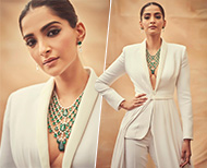 sonam boss lady latest look