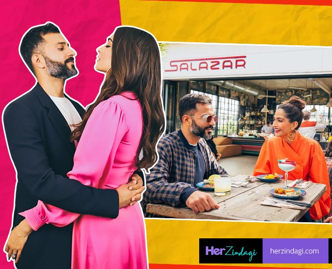 sonam kapoor and anand ahuja  new romantic pictures