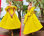 sonam kapoor yellow breakfast look