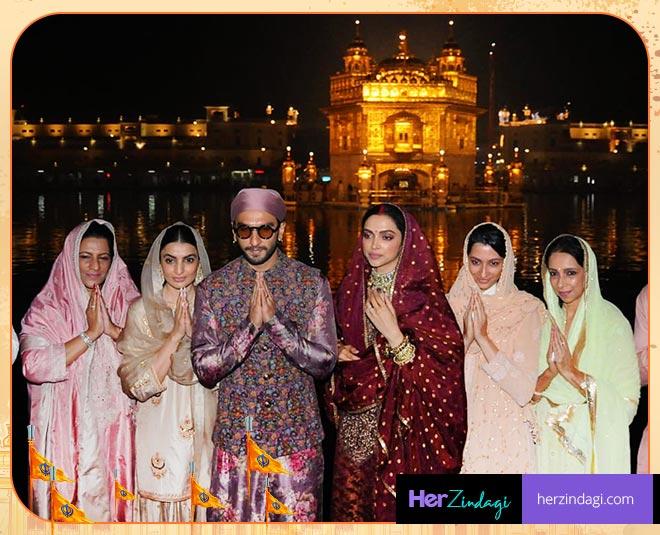 Deepika Padukone Ranveer Singh Amritsar Trip First Wedding Anniversary