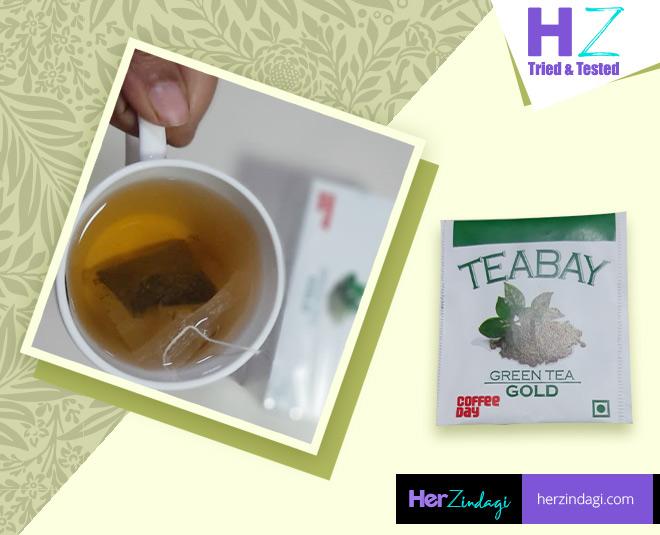 Teabay Green Tea Plain Coffee Day Review