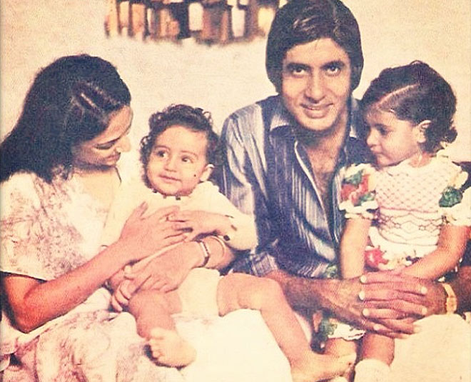 Unseen Pictures Of Amitabh Bachchan With Shweta Nanda And Abhishek Bachchan  You Have Gotta See!