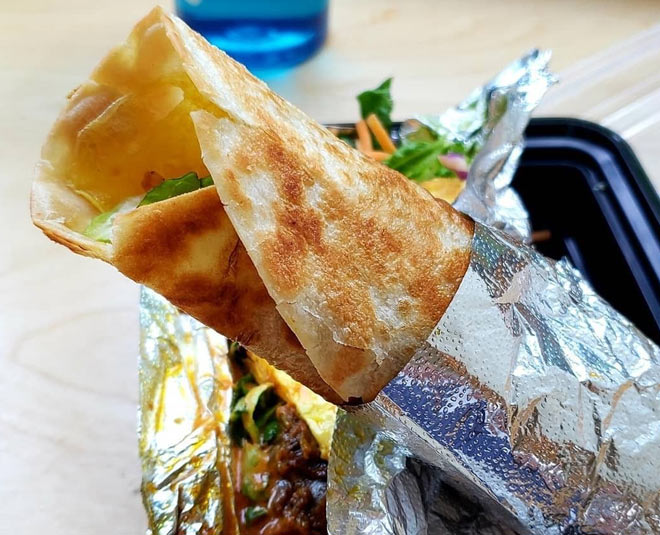 tasty nonveg recipe how to make chicken kathi roll tasty