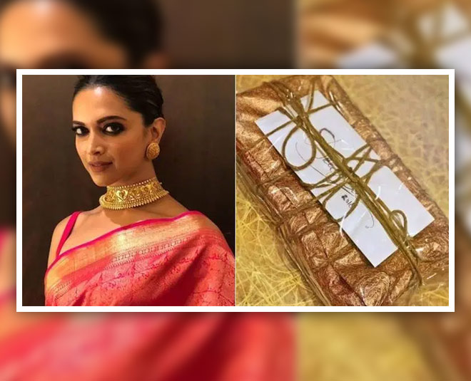 Deepika Padukone Wears Special Saree Gifted To Her During ...