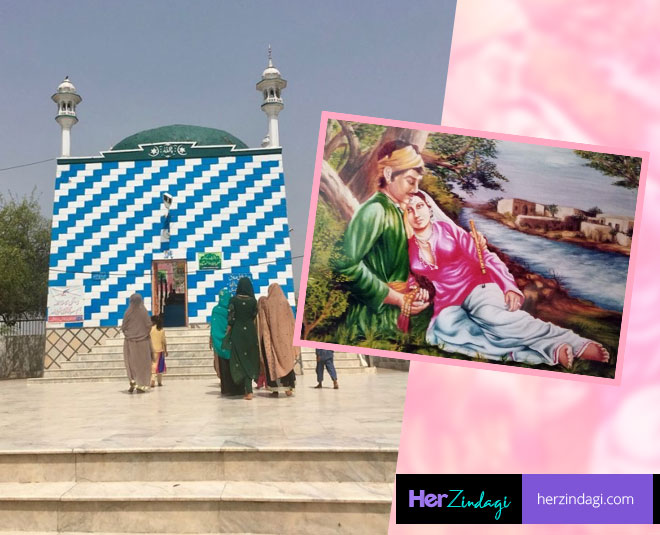 heer ranjha tomb in pakistan