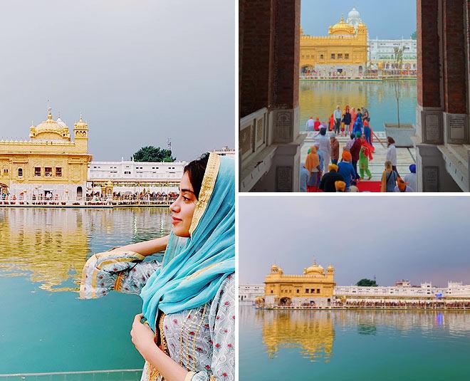 janhvi kapoor inside golden temple main