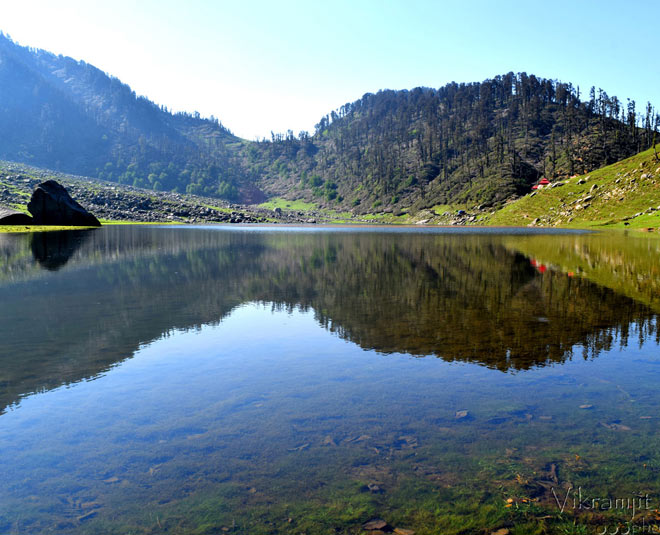 kareri lake himachal pradesh m
