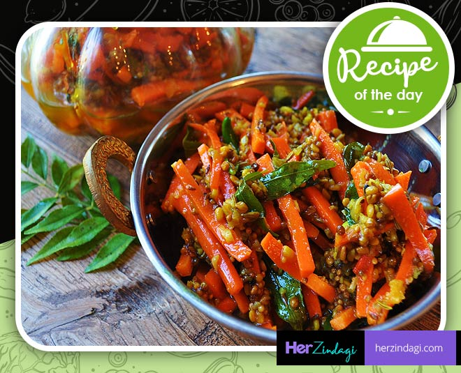 spicy carrot pickle recipes