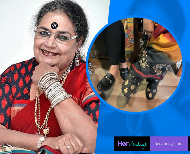 usha uthup age and sneakers