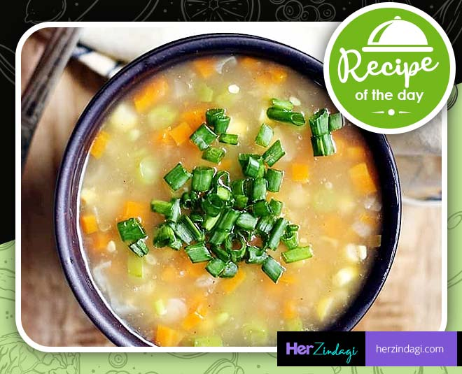 vegetable soup tasty recipe main