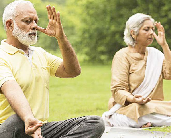 yoga fitness senior citizens