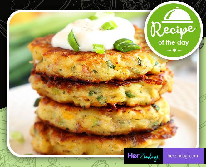 cook crunchy mini potato pancake at home main