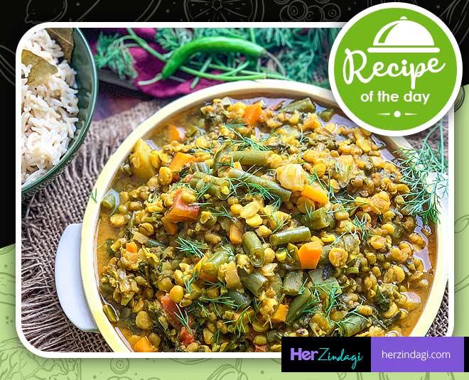 cook sindhi sai bhaji at home main