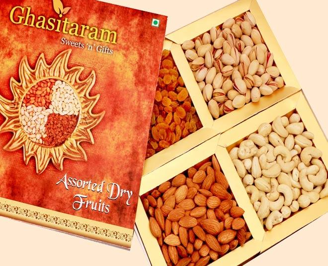 dry fruit boxes ghasitaram