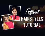 easy hairstles for diwali