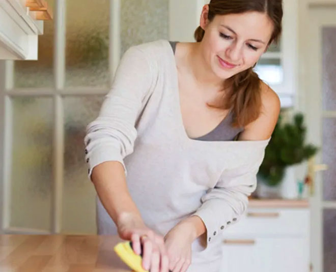 easy kitchen cleaning tips