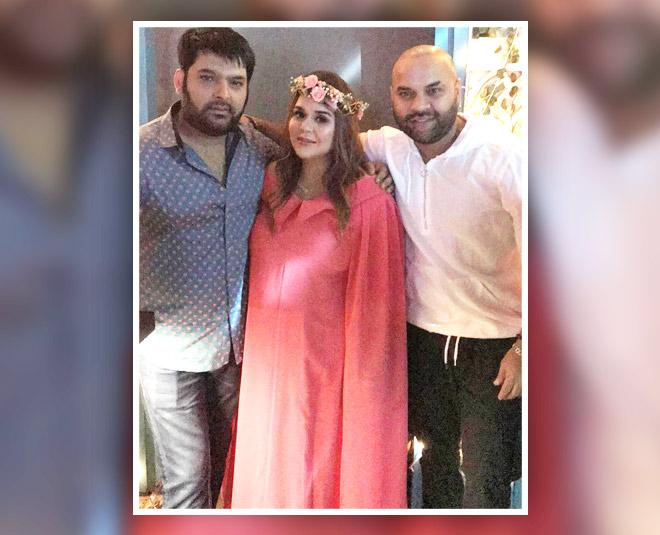 inside ginni chatrath and kapil sharma's baby shower