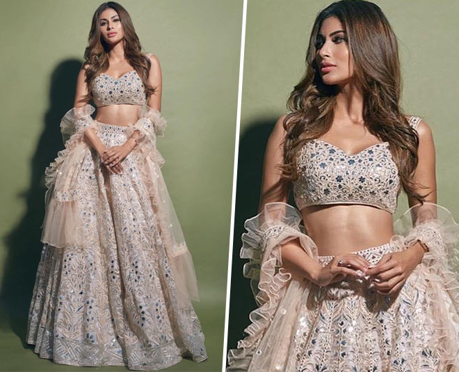 Mouni Roy's Lehengas Are Festive Perfect And Demands Your Attention!